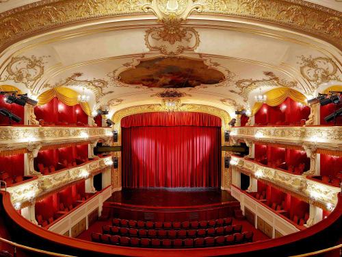 National Moravian Silesian Theatre Antonin Dvorak Theatre.